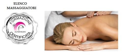 logo massaggiatore