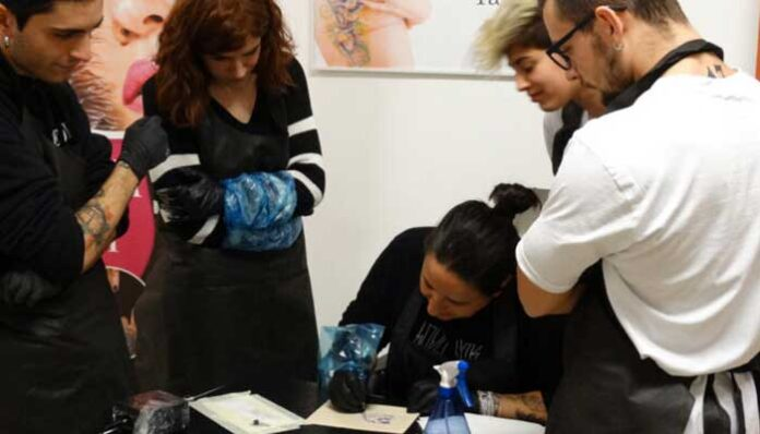 Corso Di Tatuaggio E Piercing–90 Ore Riconosciuto Dalla Regione Puglia